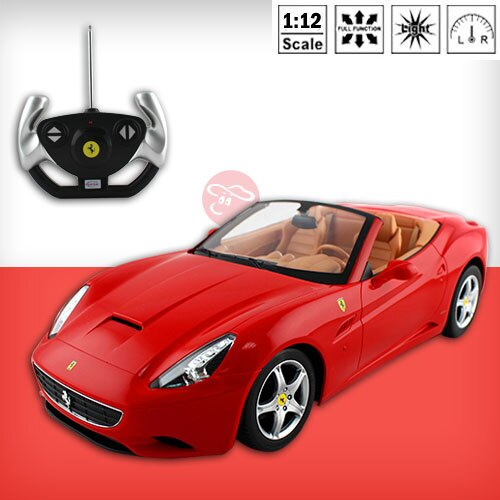 ~瑪琍歐玩具~1:12 Ferrari California 遙控車 ~  好康折扣