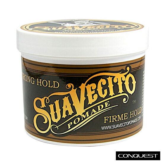美國原廠 32oz 大容量 Suavecito Firme Hold Pomade 強力款水洗式髮油 古龍水香味 送扁梳