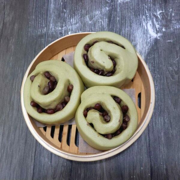 【木子先生】抹茶蜜紅豆(全素)