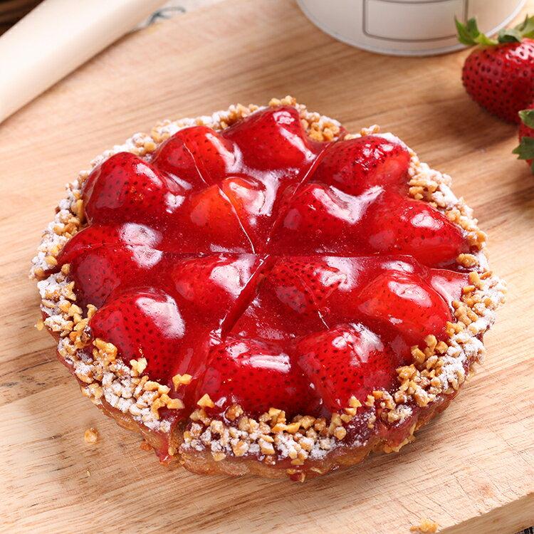 法式手作新鮮進口草莓派(6吋)★蘋果日報、東森財經台 推薦【布里王子】 0