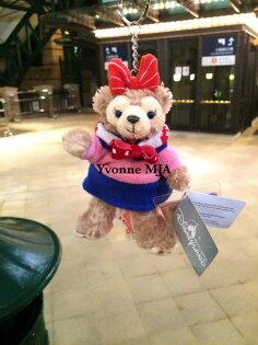 *Yvonne MJA*香港迪士尼Disney樂園限定正品Duffy達菲熊雪莉玫Shelliemay冬季耶誕版吊飾