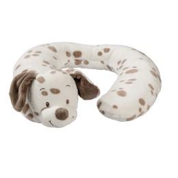 比利時【NATTOU】絨毛動物造型護頸枕M號 - 麥斯 - 限時優惠好康折扣