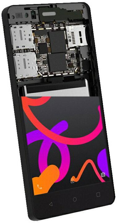 BQ AQUARIS M4.5 4G 16GB NEGRO. SMARTPHONE LIBRE 5