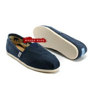 [女款] 國外代購TOMS 帆布鞋/懶人鞋/休閒鞋/至尊鞋 帆布系列  深藍 0