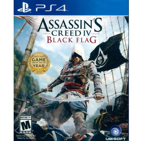 (全新包裝破損)PS4 刺客教條 4:黑旗 英文美版 Assassin's Creed 4: Black Flag