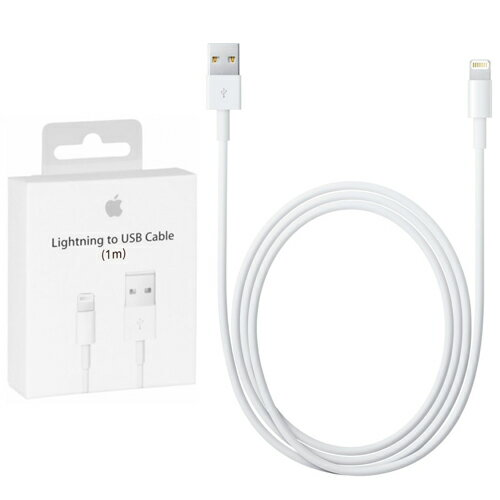 Cable Lightning APPLE ORIGINAL 1 Metro MD818ZM/A Blanco PRECINTADO 0