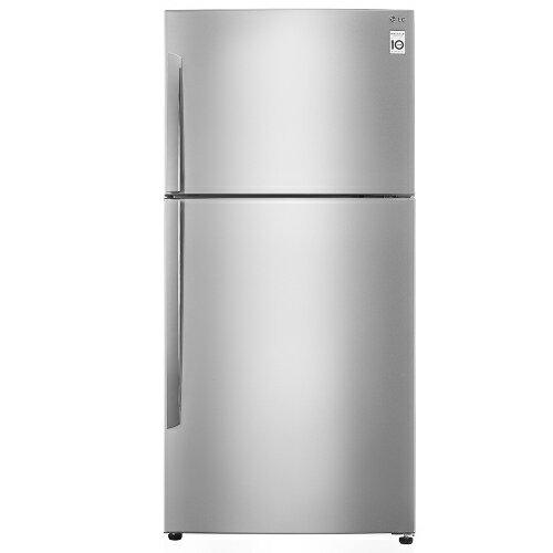 買再送好禮!LG 樂金496L SMART 變頻上下門冰箱-精緻銀【GN-B490SV】【小蔡電器】
