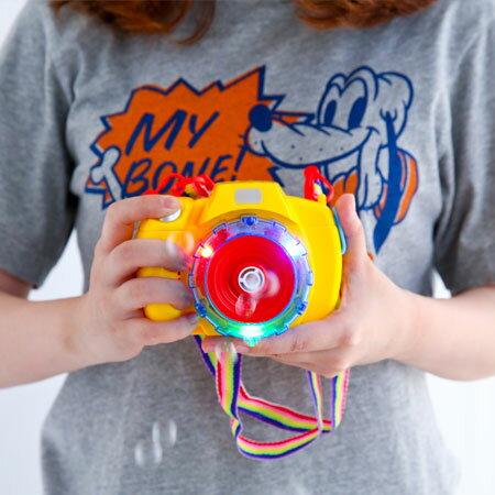 聲光照相機自動泡泡槍(附背帶) 相機 泡泡槍 泡泡機 自動 玩具 親子遊戲【B062068】