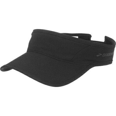 [陽光樂活]BROOKS 中空帽 慢跑帽 SHERPA RUNNING VISOR-BK280339001 黑