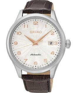 Seiko CS系列 4R35-00P0S(SRP705J1)簡約紳士機械腕錶/白面42mm