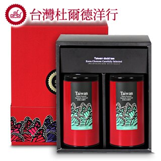 【杜爾德洋行 Dodd Tea】精選凍頂山烏龍茶2入禮盒 0