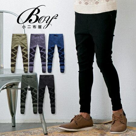 ☆BOY-2☆【KK4012】美式潮流束口牛仔休閒工作褲 0