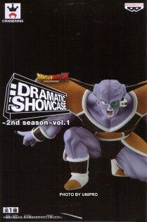 日版金證 七龍珠Z 經典 名場景 Dramatic Showcase 基紐特戰隊 單售 基紐隊長 公仔