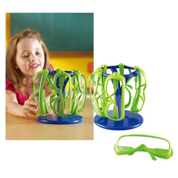 【華森葳兒童教玩具】科學教具系列-安全護目鏡 N1-1447 (華森葳系列消費1500元加贈赫利手動炫光風扇)