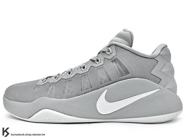 2016 ZOOM AIR 氣墊搭載 強勢回歸 NIKE HYPERDUNK 2016 LOW EP 灰銀 灰白 FLYWIRE 鞋面科技 XDR 耐磨橡膠外底 輕量化 籃球鞋 HD 2K16 (844364-010) 0816