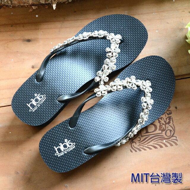 台灣製水晶鑽拖鞋