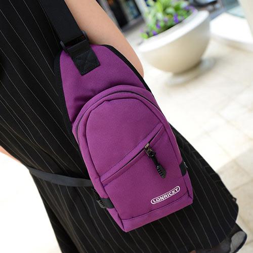胸包-中性尼龍清爽透氣網布設計胸包 後背包 包飾衣院 P1650 現貨