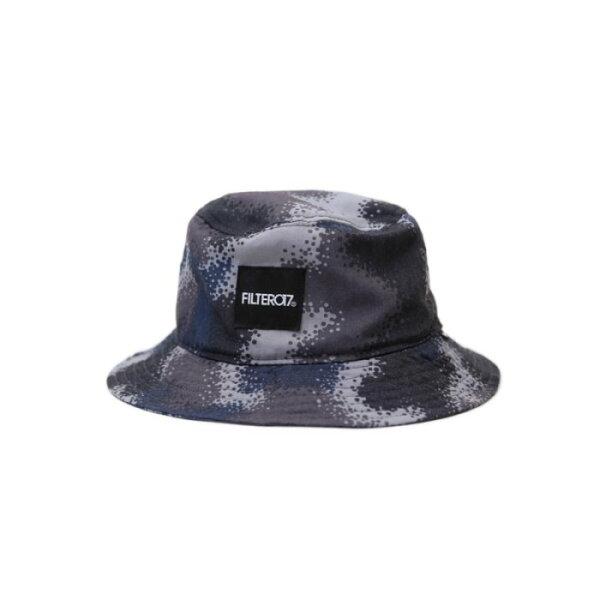►法西歐_桃園◄ Filter017 Bucket Hat Denmark Camo 斑點 迷彩 灰 藍 咖 棕 黑 平頂 漁夫帽 灰藍