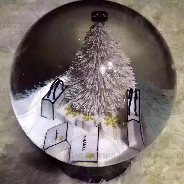 Chanel 香奈兒 小香 VIP 聖誕節 雪花 聖誕樹 贈品 送禮 情人節 水晶球 5