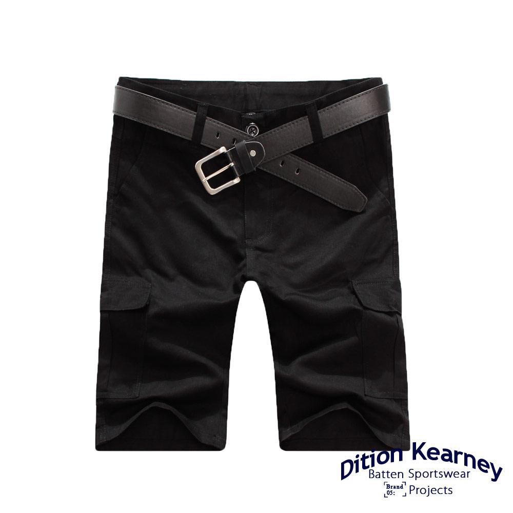 DITION   日系機能口袋outdoor工作短褲 素色 滑板 4