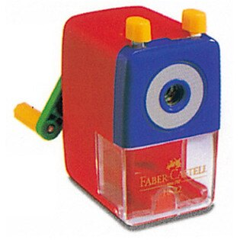 【Faber-Castell 輝柏】 1828 大小通用削鉛筆機(色鉛筆專用)