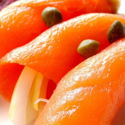 挪威進口★煙燻鮭魚★油脂豐富、口感極佳~##C0015 0