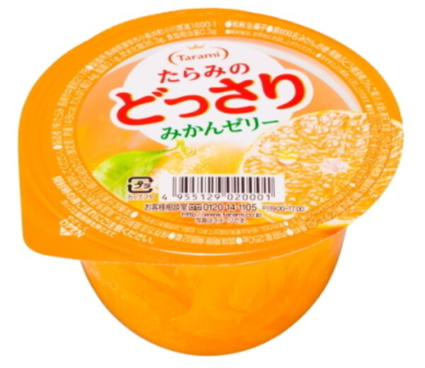 Tarami達樂美杯子果凍-橘子  (250g)