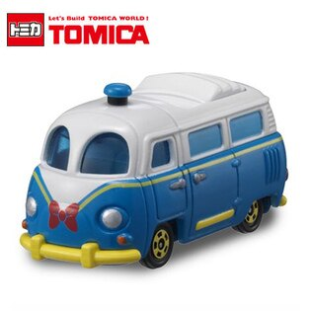 日貨 TOMICA 夢幻唐老鴨巴士 DM-08 多美小汽車 迪士尼 日本進口【N201731】