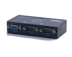 [NOVA成功3C] HANWELL 捍衛科技 SMV-102P 2對1 VGA 視訊自動切換器  喔!看呢來
