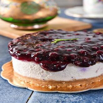 ♥ 野生藍莓重乳酪蛋糕 ♥ 4吋 ♪法蘿米