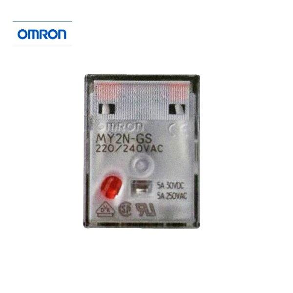 【omron】 继电器 my2n-gs 8脚 (my2nj为旧款)