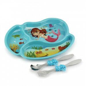 美國【KIDSFUNWARES】造型兒童餐盤組-小美人魚 0