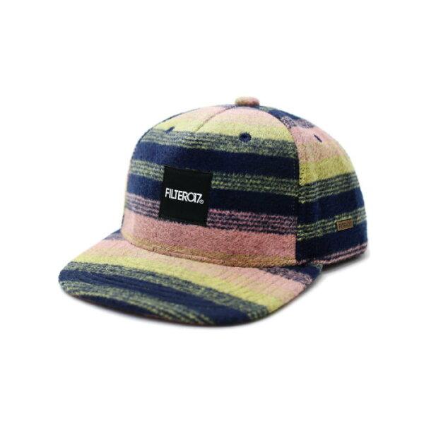 ►法西歐_桃園◄ Filter017 Cap Stripe Wool 毛料 毛呢 工作帽 橫條 條紋 撞色 黃 藍 粉 / 綠 灰 黑 二色 黃 藍 粉
