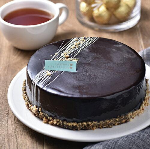 評比冠軍!經典巧克力蛋糕 6吋