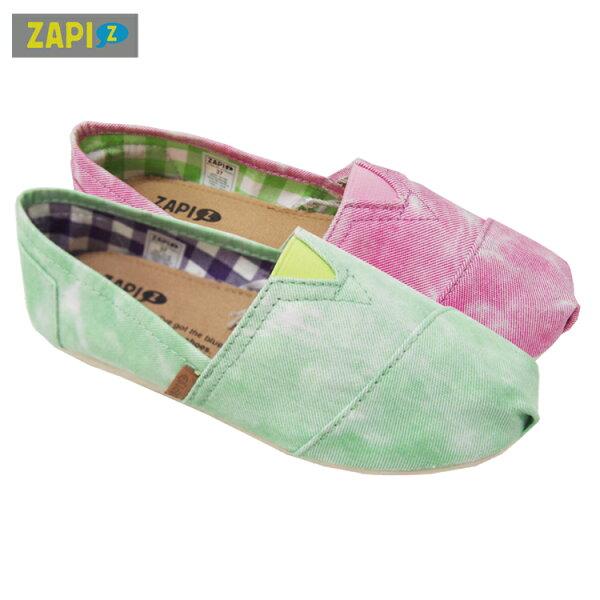 ZAPI休閒懶人鞋-渲染綠/渲染粉