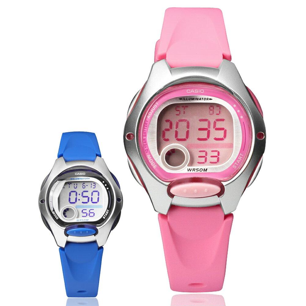 CASIO 卡西歐 LW-200 小巧時尚亮色系輕鬆配戴防水電子錶 0