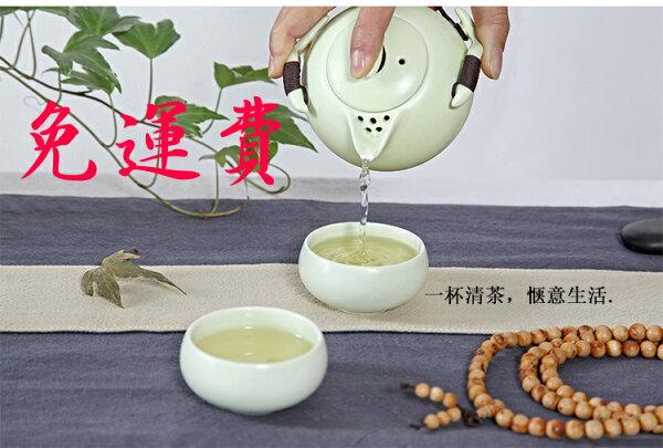 【自在坊】企鵝壺款 一壺二杯組 定窯 茶具 冰裂開片功夫茶具 品茗杯 茶壺 茶海 套組禮盒旅行組 自在坊