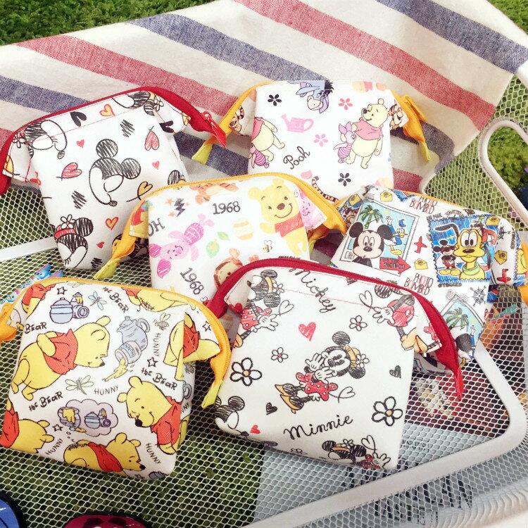 PGS7 迪士尼系列 ~ 迪士尼 系列 萬用 小收納包 零錢袋 零錢包 收納袋 米奇 米妮
