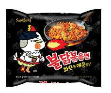 【橘町五丁目】韓國 三養噴火辣雞肉風味炒麵泡麵-單包