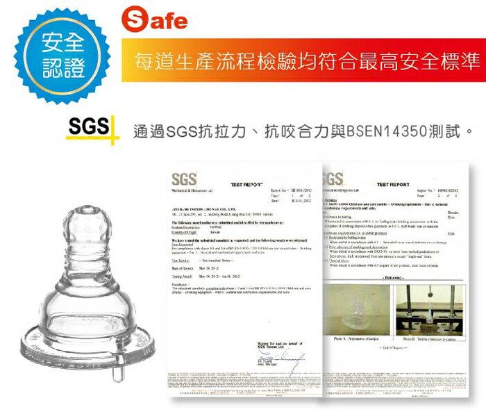 『121婦嬰用品館』KUKU 防脹氣母乳型奶嘴 - 標準圓孔M 2入 5