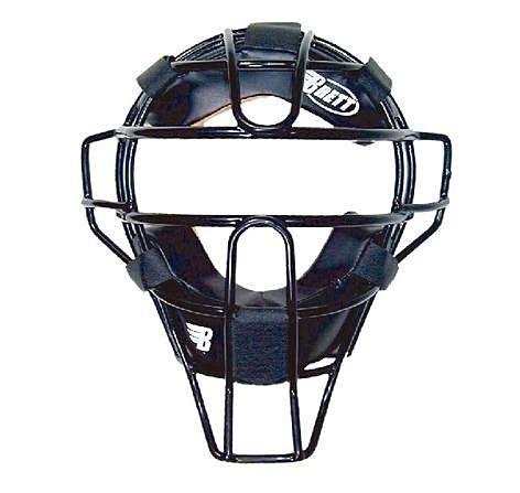 棒球世界 Brett 布瑞特 超輕量成人用捕手面罩 B-M01 黑色