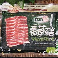 【台北濱江】香草豬五花肉片(300g/份) 2