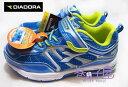【巷子屋】義大利國寶鞋-DIADORA迪亞多納 男童四大機能寬楦大氣墊運動跑鞋 [8816] 藍 超值價$498