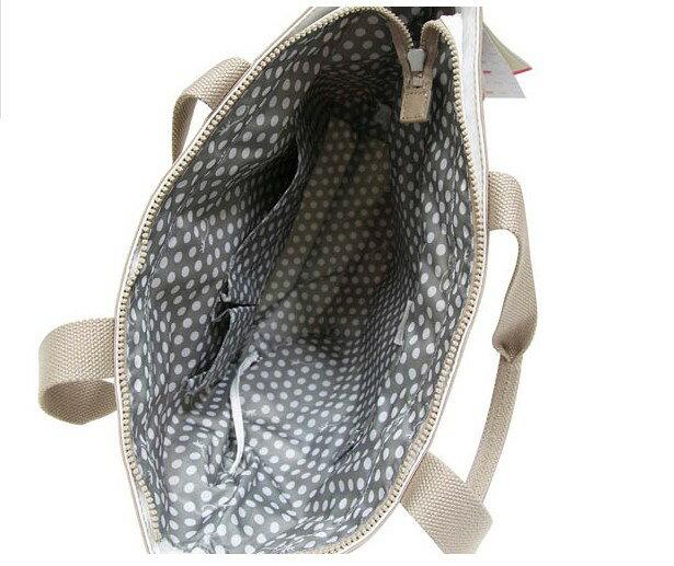 OUTLET代購【KIPLING】網洞雙色尼龍肩揹包 旅行袋 斜揹包 媽媽包 2