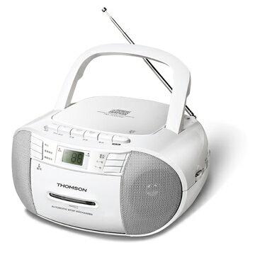 【THOMSON湯姆盛】CD/收音機/錄音帶 手提式收錄音機 TM-TCDC05