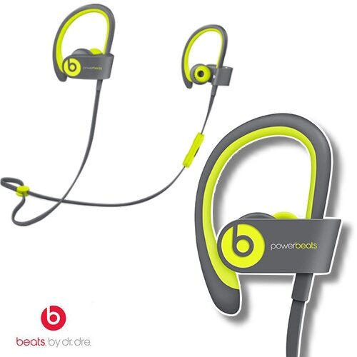 Beats Powerbeats2 Wireless Active 黃灰 藍牙無線運動耳機 藍芽 耳掛式 耳機
