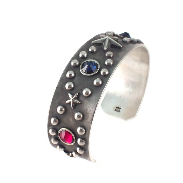 【海外訂購】【amp japan】流星鉚釘做舊銅手環(AMP-15AO-327A  0825870300) 3
