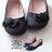 格子舖*【AI715】MIT台灣製 基本款質感麂皮蝴蝶結 圓頭平底包鞋 娃娃鞋 懶人鞋 2色 1