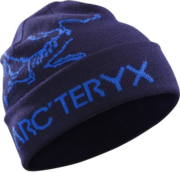 Arcteryx 始祖鳥 保暖帽/毛帽/滑雪/登山/旅遊/背包客 Rolling Word 雙面保暖帽 15227馬里亞納墨紫 Arc'teryx