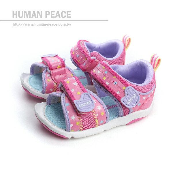 Carrot 涼鞋 粉 小童 no909